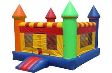Crazy Carnival Bouncy House