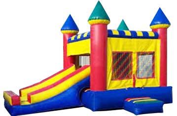 Rainbow Bounce House Combo