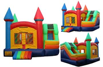 Teddy's Bounce House Combo