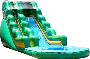 Mean Green Dry Slide Rental