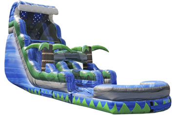 Monster Crush Inflatable Water Slide